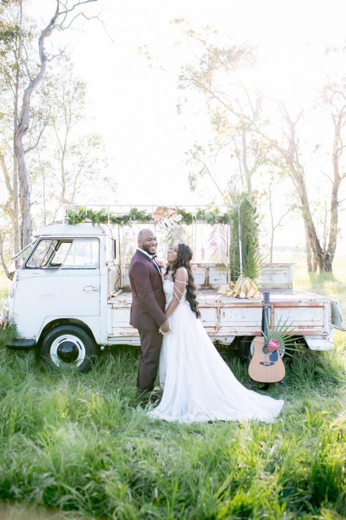 Nuntă retro tropicală