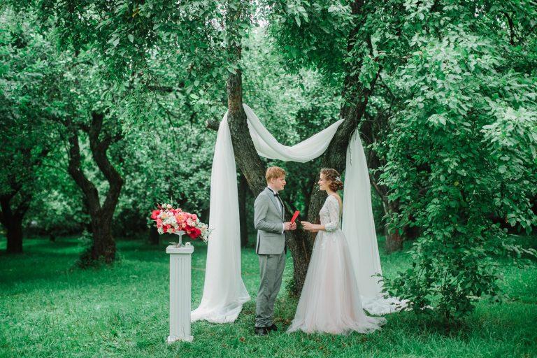 Nuntă romantică în Living Coral