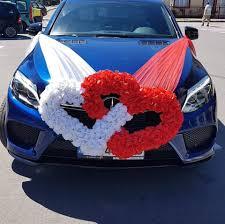 Idei minunate de decoratiuni pentru masini de nunta