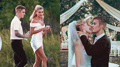 Justin Bieber s-a casatorit religios